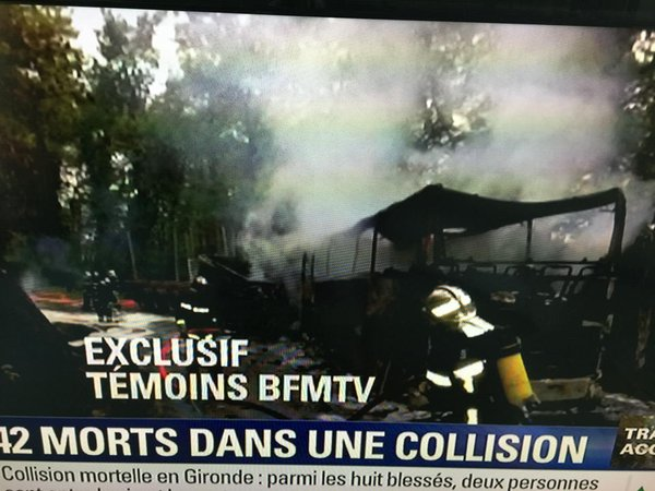 Подробности крупнейшего за 33 года ДТП во Франции: видео и фото