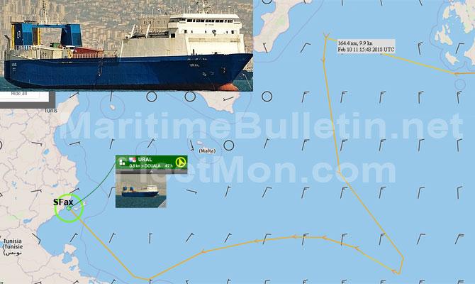 В Тунисе задержали судно с российским оружием, Москва молчит