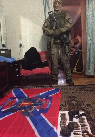 СБУ в центре Запорожья задержала боевика по кличке Беркут: видео