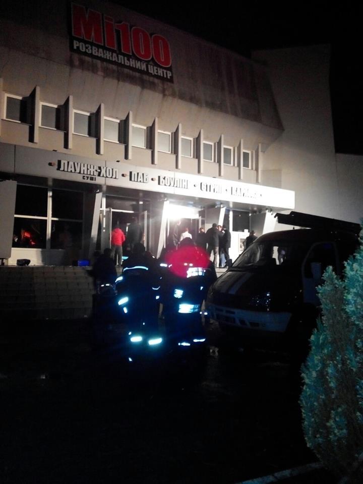 В ночном клубе Львова вспыхнул пожар: 14 госпитализированных