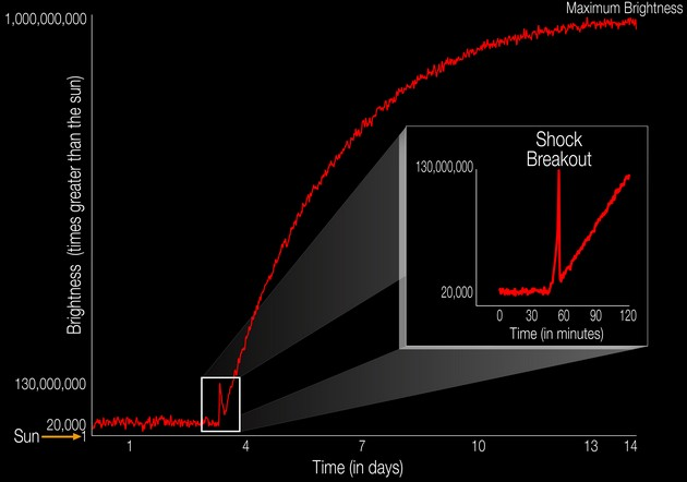 NASA показало момент уничтожения звезды взрывом сверхновой: видео