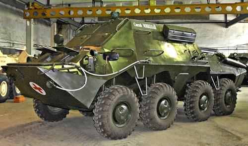 """Украинские разработчики выпустили бронированную """"скорую помощь"""""""