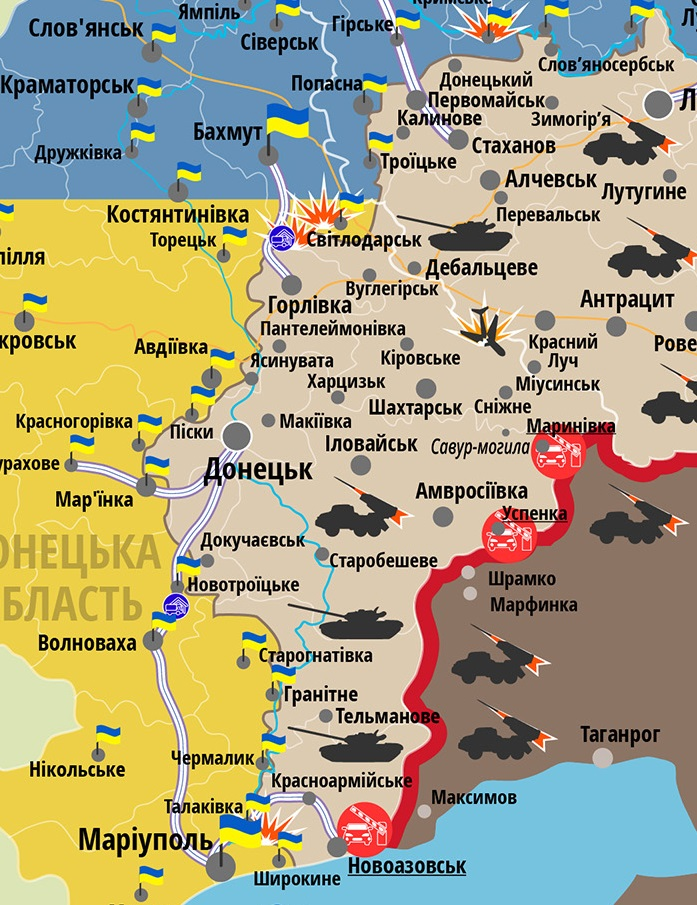 За прошлые сутки боевики снизили активность огня поукраинским позициям,— Гуцуляк