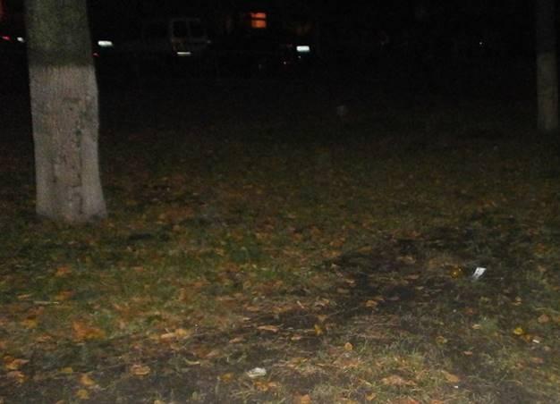 В Киеве мужчина выбросил гранату из такси, испугавшись полиции