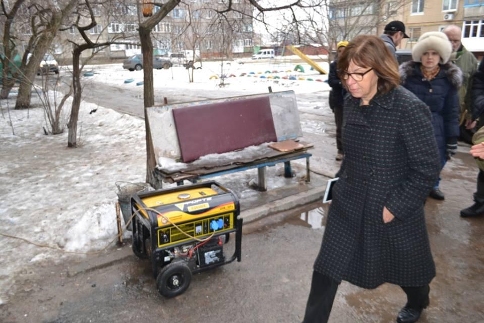 Хармс в Авдеевке: Украина не будет одна в борьбе с агрессией РФ