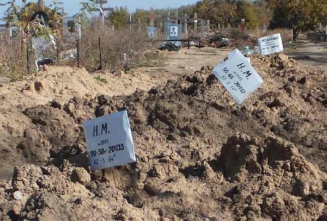 В Ростове-на-Дону появились странные могилы - блогер