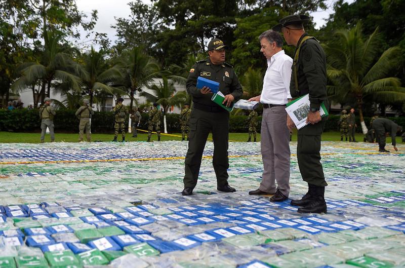 В Колумбии изъяли рекордную партию кокаина: фото