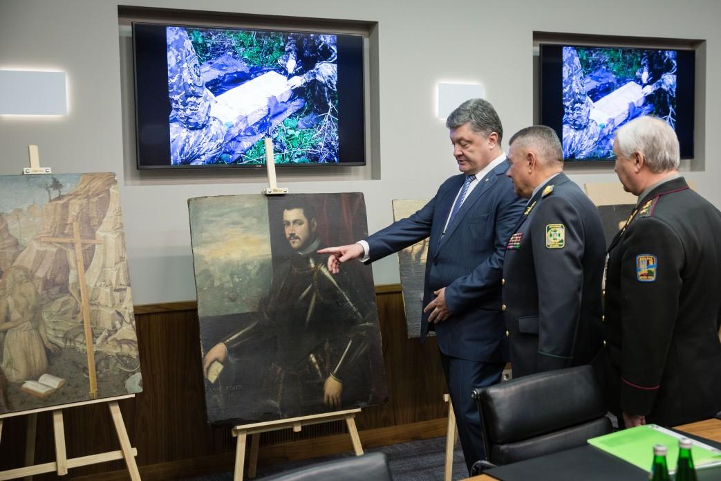 На Украине обнаружили 17 похищенных из музея Вероны картин на €16 млн