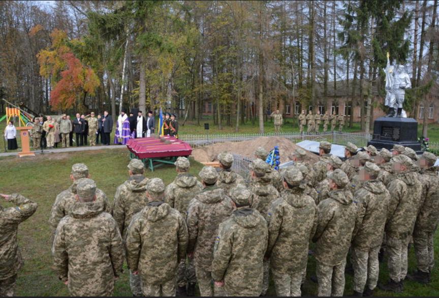 Под Житомиром перезахоронили 65 солдат Второй мировой войны