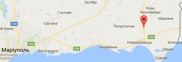 ГУР: под Новоазовск переброшена боевая техника и 80 военных РФ