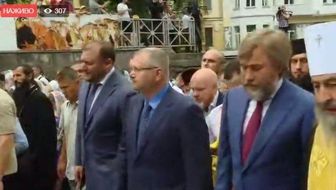 День крещения Руси: в шествии УПЦ МП участвуют депутаты Оппоблока
