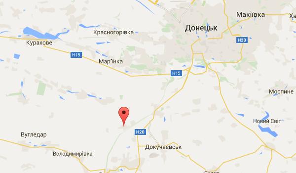 Под Марьинкой мужчина наехал на взрывное устройство и погиб