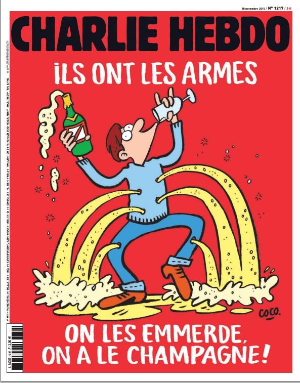 Журнал Charlie Hebdo посвятил новый номер терактам в Париже