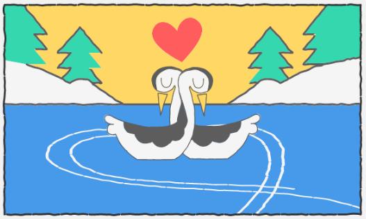 Google поздравил влюбленных с праздником с помощью дудла: фото