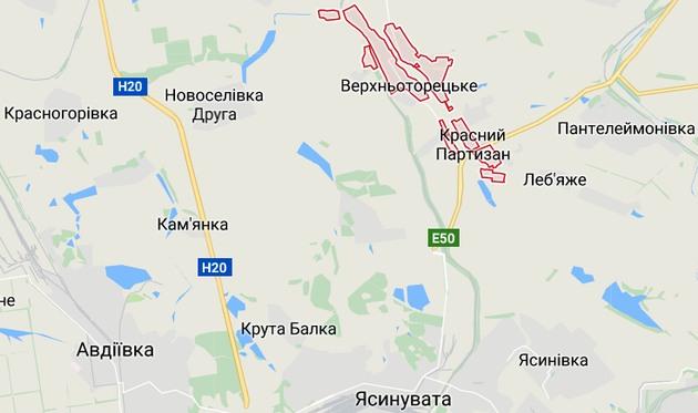 На север от Ясиноватой открыт блокпост: борются с контрабандой