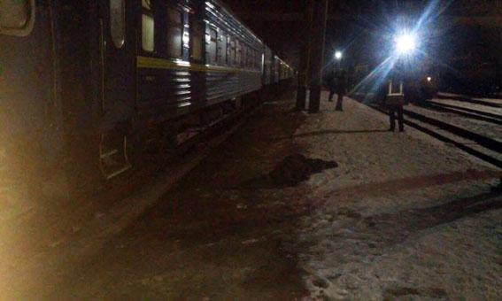 ВКраматорске мужчина прыгнул под поезд «Константиновка— Киев»