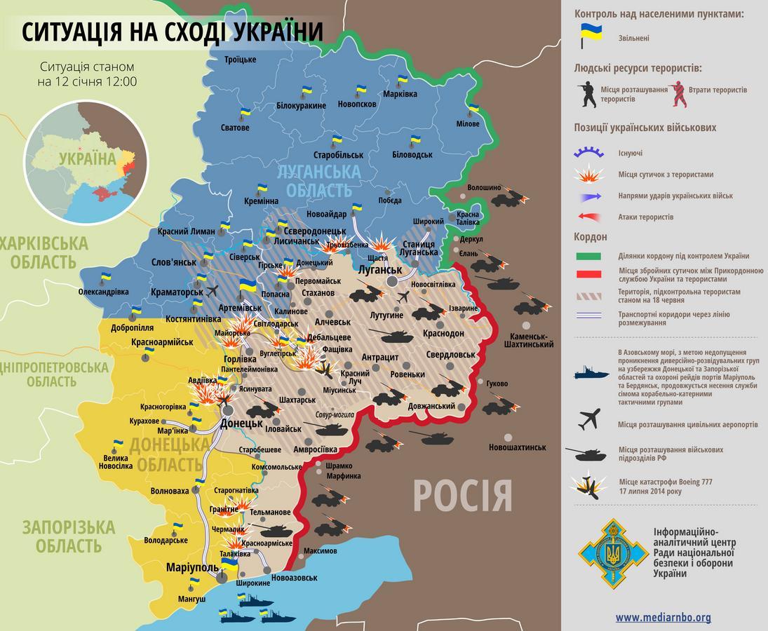 Москва хоронит Минские соглашения. Итоги недели в зоне АТО
