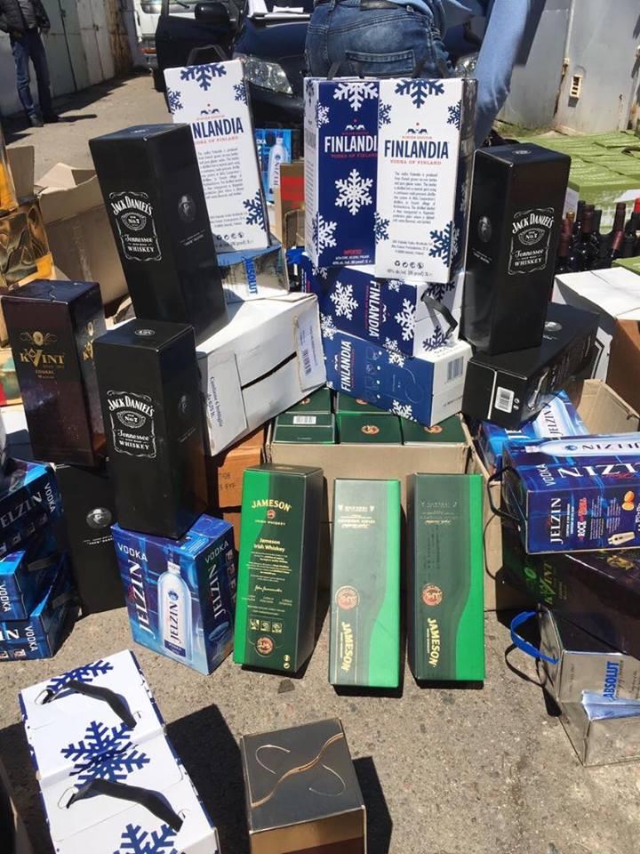 В Одессе ликвидирован цех по производству псевдоэлитного алкоголя