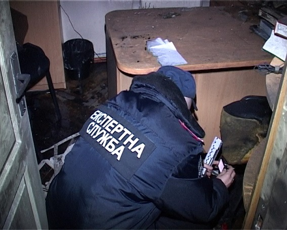 Поджог кабинета судьи ГРУшников: открыто уголовное производство