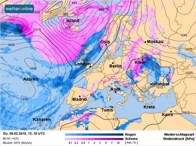 Синоптики предупреждают о резкой смене погоды и осадках: карты