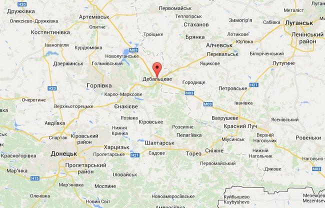 Боевики атакуют силы АТО в районе Дебальцево - ИС
