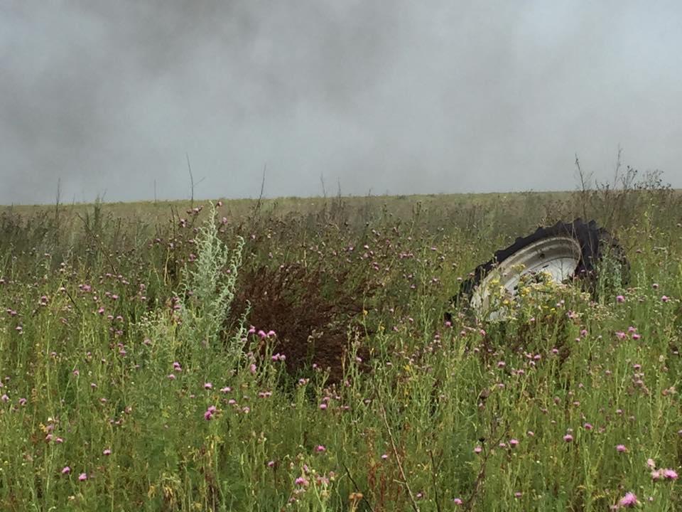 ВДонецкой области наполе подорвался трактор, есть пострадавшие