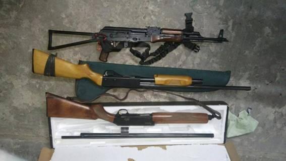 У фигуранта дела об убийстве Сергиенко нашли арсенал оружия: фото