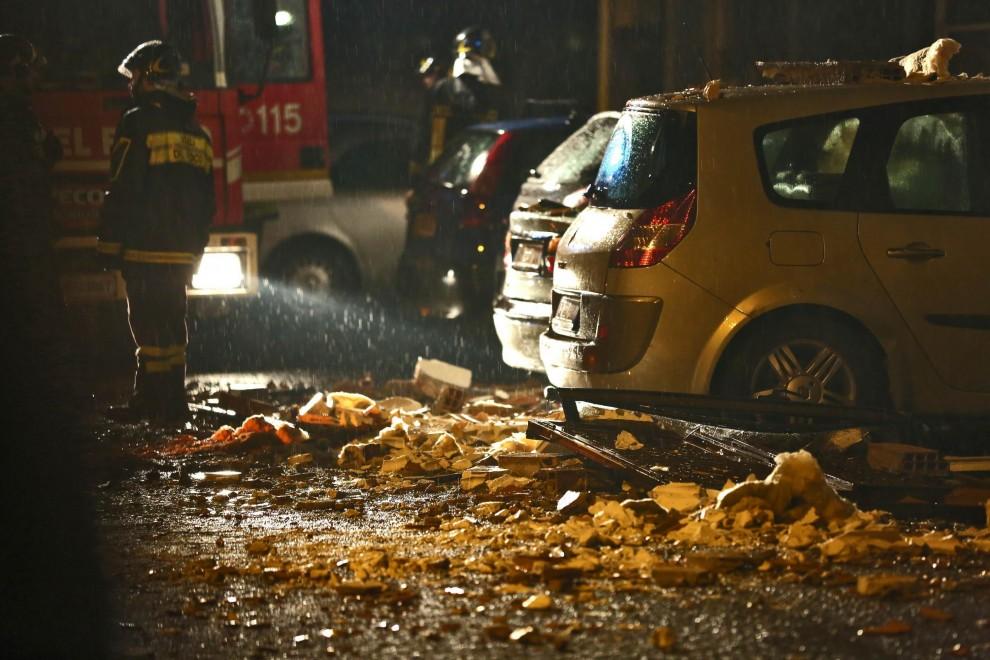 В Риме в результате взрыва погиб человек, 14 ранены