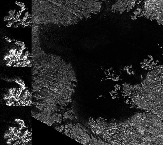 Эксперты NASA обнаружили волны в углеводородном мореТитана