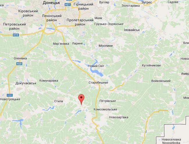 Боевики атаковали опорный лагерь АТО в Донецкой области