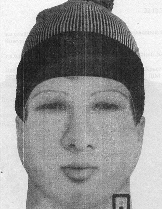 Милиция обнародовала фоторобот мужчины, подозреваемого восквернении синагоги вУмани