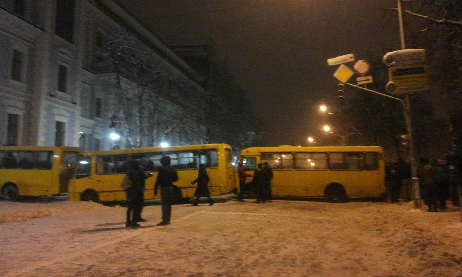 Евромайдан, день 19-й: хроника