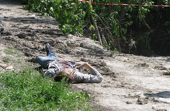 В Луганске террористы обстреляли автомобиль и убили водителя