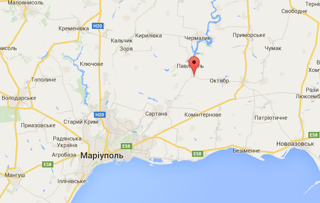 Под Мариуполем силы АТО вступили в бой с диверсантами ДНР