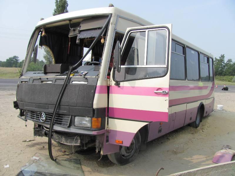 На Херсонщине в ДТП попал автобус: есть жертвы и пострадавшие