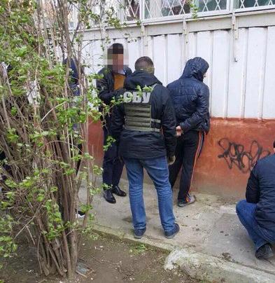 В Херсоне задержан полицейский, подозреваемый в сбыте амфитамина