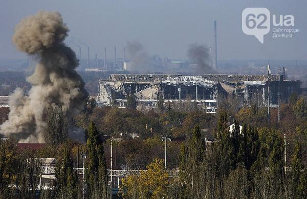 """""""Киборги"""" наступают на старый терминал аэропорта Донецк - СМИ"""