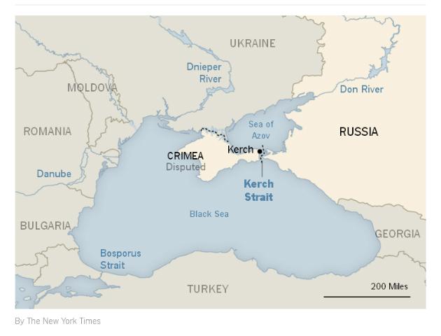 "Газета New York Times назвала Крым ""спорной территорией"": фото"