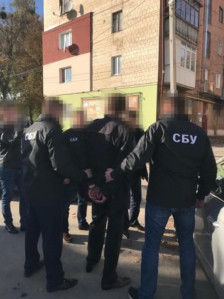 СБУ задержала на взятке главного государственного исполнителя