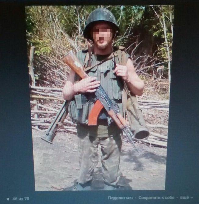 Бойцы ВСУ захватили вооруженного боевика «ЛНР», издевавшегося над украинскими пленными