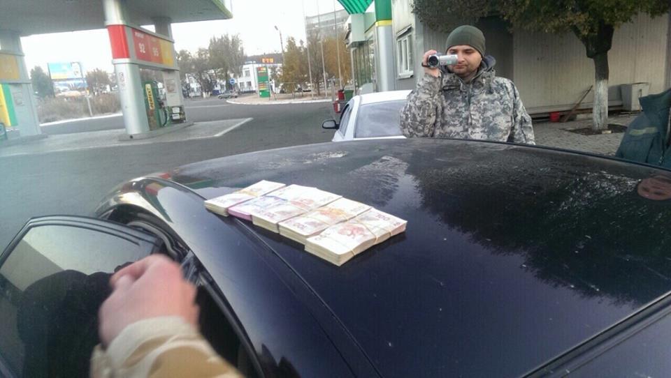 В Донбассе на взятке 200 тыс грн задержаны офицеры погранслужбы