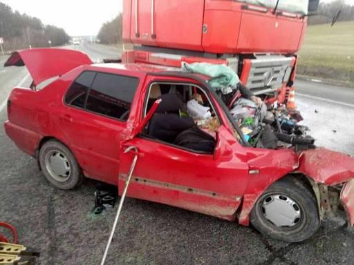 Жуткая авария во Львовской области: погибли двое людей